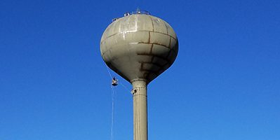 ndt inspector rope access water tower